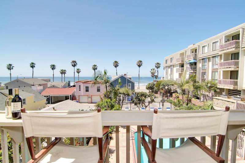 View from Balcony - Whitewater Beach views from 1 BR Beachfront Condo. - Oceanside - rentals