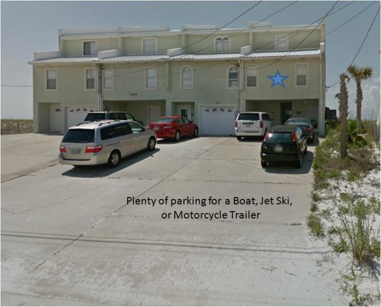 Front of the Townhouse - EMERALDSTAY (DIRECTLY ON THE BEACH)  Jetski Rental - Navarre - rentals