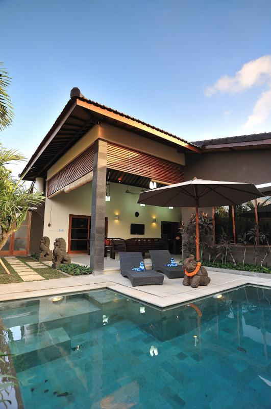 Private Pool - Pulau Tenang Bali Villas - 4 Bedroom Family Villa - Kerobokan - rentals