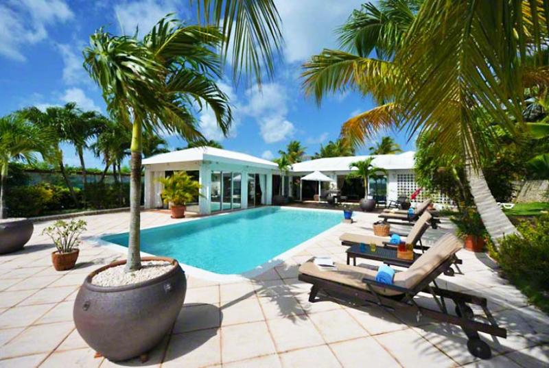 St. Martin Villa 61 Surrounded By Lush Tropical Gardens, Offers A Secluded Hideaway For Nature Lovers. - Image 1 - Baie Rouge - rentals