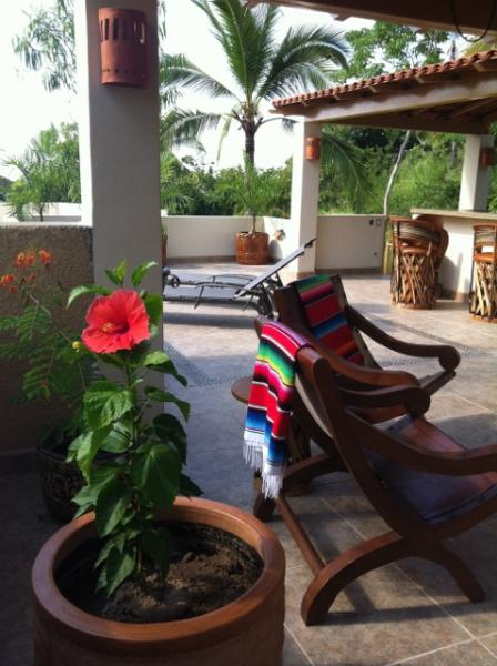 Roof-top Patio - Casa Lluvia - Come Relax and Enjoy Our Oasis! - Sayulita - rentals