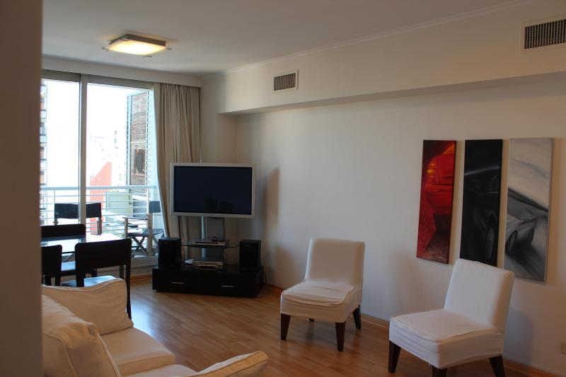Living Room - Best location & amenities! Modern tower in Palermo - Buenos Aires - rentals