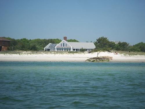 Private Beachfront Home on Great Island (1198) - Image 1 - Yarmouth - rentals