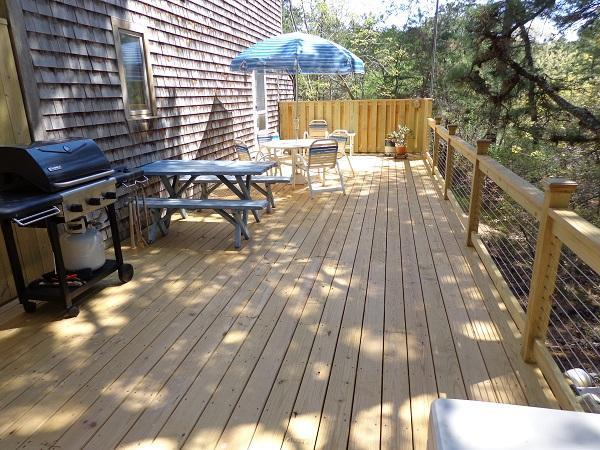 Enjoy summer BBQ's on this New Deck (1410) - Image 1 - Wellfleet - rentals