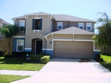 Front View of Villa  - BEAUTIFUL SPACIOUS  VILLA MINUTES TO DISNEY - Kissimmee - rentals