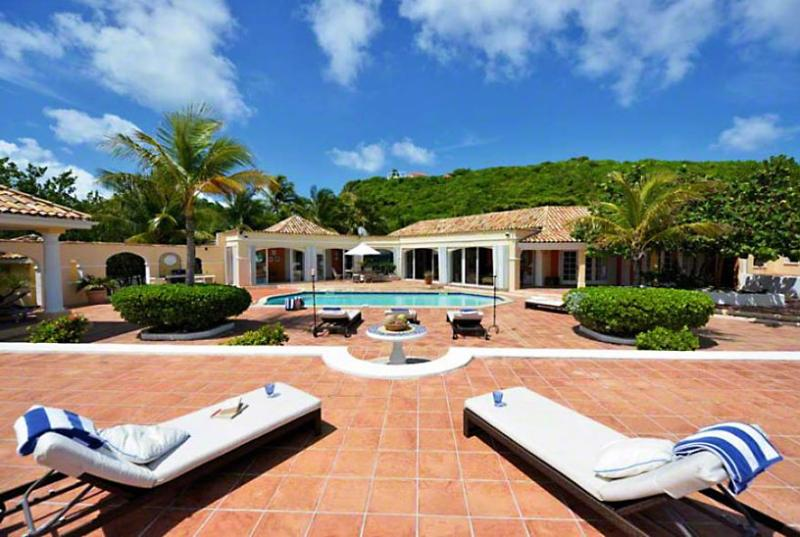 St. Martin Villa 64 Enjoy The Unobstructed View Of The Blue Caribbean And The Island Of Anguilla On The Horizon. - Image 1 - Baie Rouge - rentals