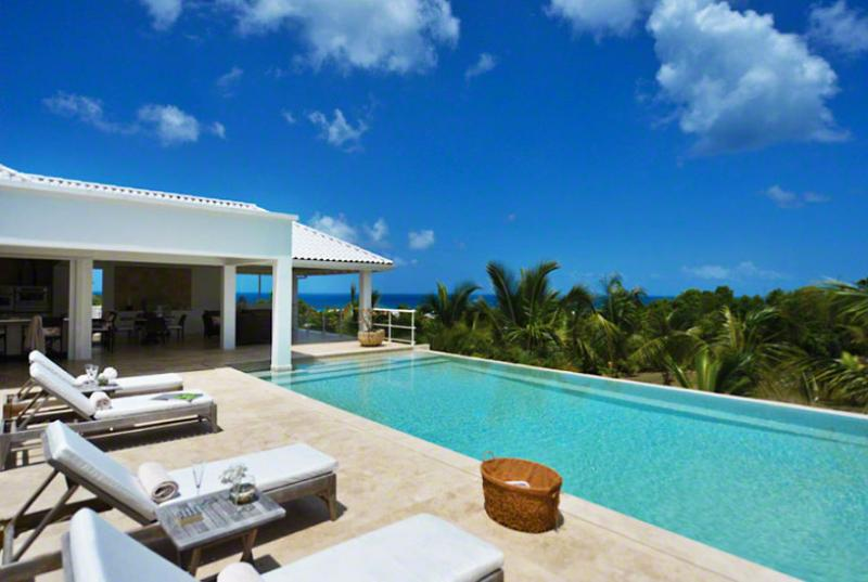 St. Martin Villa 65 Overlooking The Turquoise Waters Of The Caribbean Sea And Sitting On Striking Landscaped Grounds. - Image 1 - Terres Basses - rentals