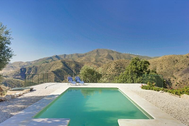 Our Beautiful Pool with Stunning Views - The Olive Branch-Climb,hike,Bike or Simply Relax! - Alora - rentals