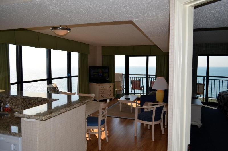 Breakers Paradise Tower- Gorgeous 3bed/2bath Oceanfront corner unit-Floor to ceiling windows-Huge balcony - Image 1 - Myrtle Beach - rentals