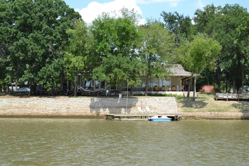 house from water - Where the Road Ends the Fun Begins ! - Granbury - rentals