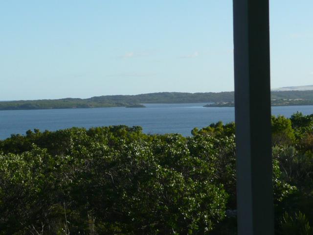 verandah outlook; a vista of waterways and islands - Kestrel Downs - A Unique Experience - Sea & Nature - Kangaroo Island - rentals