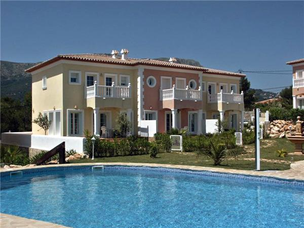 Holiday house for 4 persons, with swimming pool , in Calpe - Image 1 - Calpe - rentals