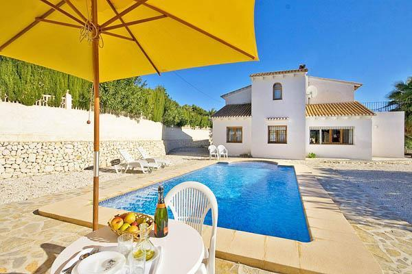 Holiday house for 8 persons, with swimming pool , in Moraira - Image 1 - La Llobella - rentals