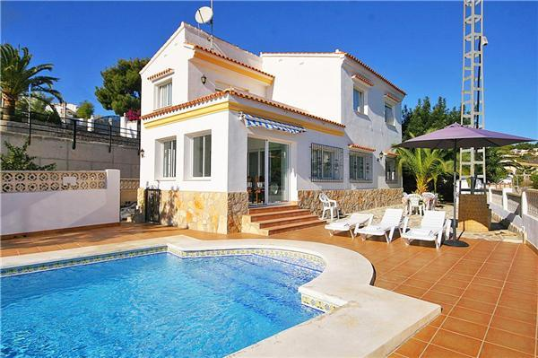 Holiday house for 8 persons, with swimming pool , in Benissa - Image 1 - Benissa - rentals