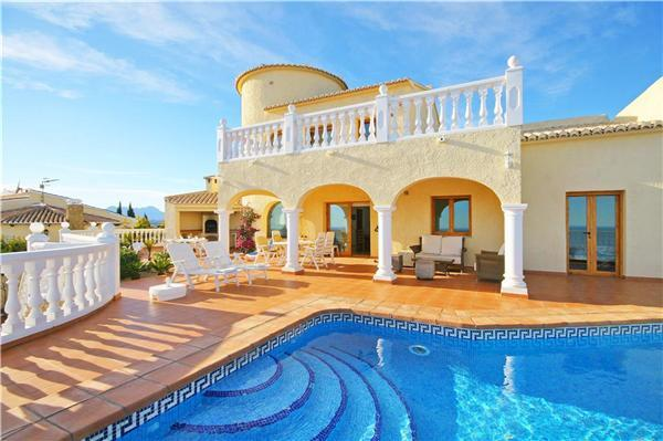 Attractive holiday house for 8 persons, with swimming pool , in Moraira - Image 1 - Benitachell - rentals