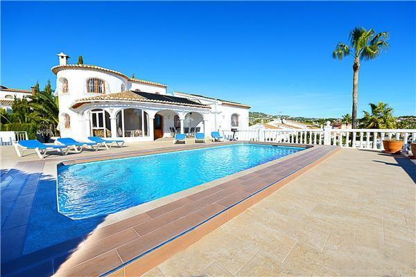 Holiday house for 8 persons, with swimming pool , in Calpe - Image 1 - Calpe - rentals