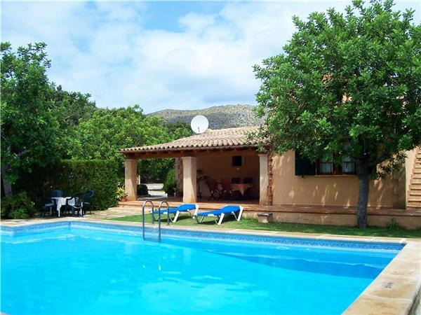 Holiday house for 6 persons, with swimming pool , in Port de Pollenca - Image 1 - Port de Pollenca - rentals