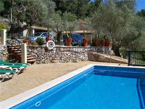 Attractive holiday house for 6 persons, with swimming pool , in Esporles - Image 1 - Esporles - rentals