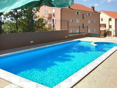 Apartment for 3 persons, with swimming pool , near the beach in Crikvenica - Image 1 - Dramalj - rentals