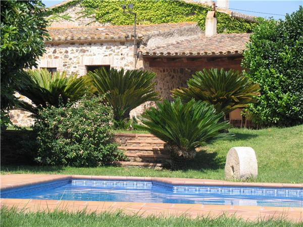 Atractive holiday house for 8 persons, with swimming pool , in Palamós - Image 1 - Vall-Llobrega - rentals