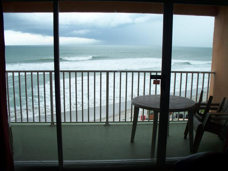 View from Living Room Balcony - Top floor OceanFront Condo with AMAZING views!!!!! - Satellite Beach - rentals