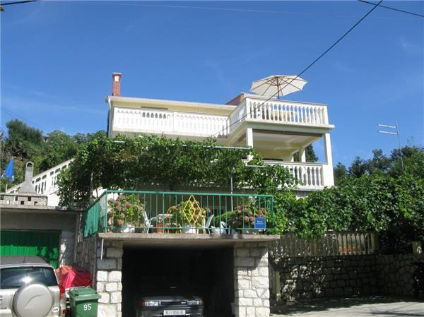 Attractive apartment for 5 persons near the beach in Rab - Image 1 - Lopar - rentals