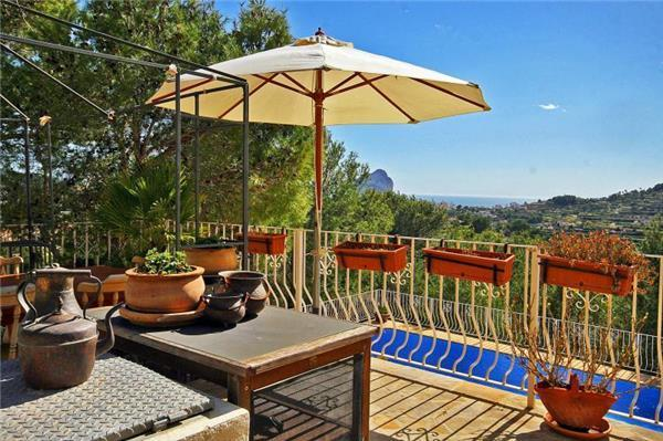 Holiday house for 6 persons, with swimming pool , in Benissa - Image 1 - Benissa - rentals
