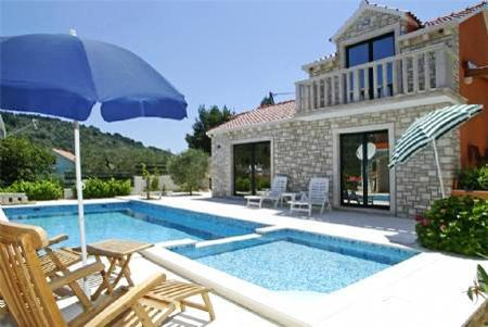 Apartment for 4 persons, with swimming pool , in Korcula - Image 1 - Vela Luka - rentals