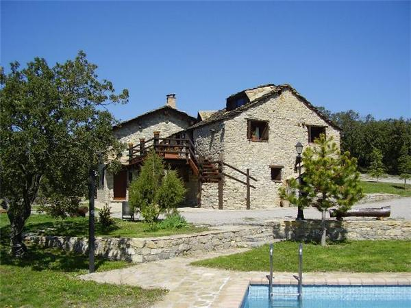 Attractive holiday house for 16 persons, with swimming pool , in Pyrenees - Image 1 - Coll de Nargo - rentals