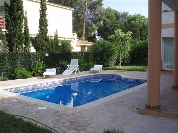 Holiday house for 6 persons, with swimming pool , in L'Ametlla de Mar - Image 1 - L'Ametlla de Mar - rentals