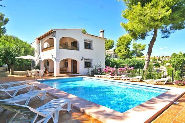 Attractive holiday house for 12 persons, with swimming pool , in Calpe - Image 1 - Calpe - rentals