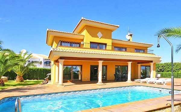 Holiday house for 12 persons, with swimming pool , in Calpe - Image 1 - Calpe - rentals