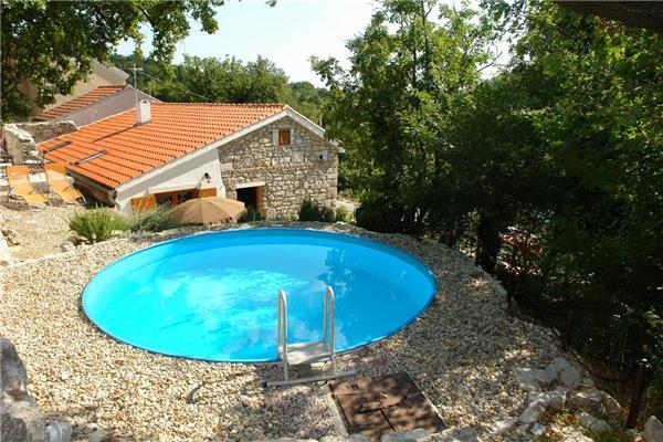 Holiday house for 8 persons, with swimming pool , in Crikvenica - Image 1 - Tribalj - rentals