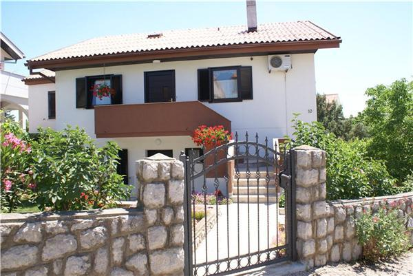 Apartment for 6 persons in Krk - Image 1 - Krk - rentals