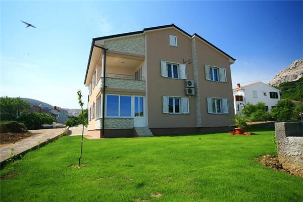 Apartment for 6 persons in Krk - Image 1 - Baska - rentals