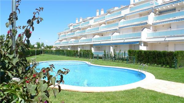 Apartment for 6 persons, with swimming pool , near the beach in Alcoceber - Image 1 - Alcossebre - rentals
