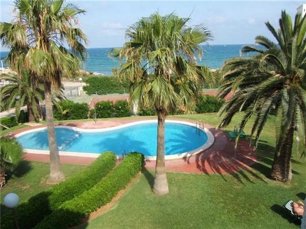 Apartment for 4 persons, with swimming pool , near the beach in Alcoceber - Image 1 - Alcossebre - rentals