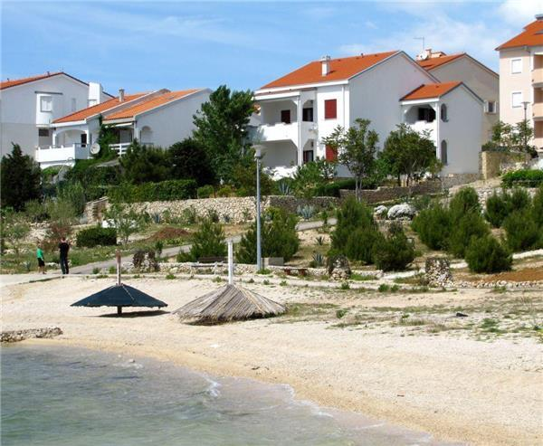 Apartment for 4 persons near the beach in Pag - Image 1 - Vidalici - rentals