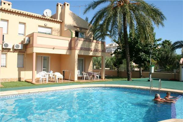 Apartment for 6 persons, with swimming pool , near the beach in Denia - Image 1 - Denia - rentals