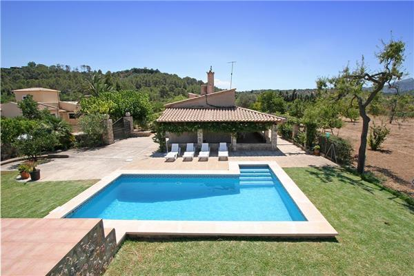 Holiday house for 4 persons, with swimming pool , in Pollenca - Image 1 - Pollenca - rentals
