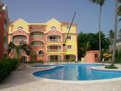 Frontage - Apartment for rental in El Dorado (Bavaro) - Punta Cana - rentals