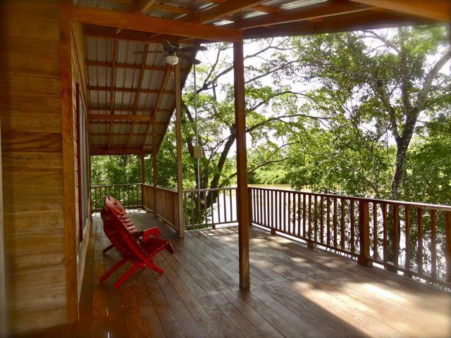 The deck - front row seats to paradise  - Howler House Luxury Tree house Vacation rental - Burrell Boom - rentals