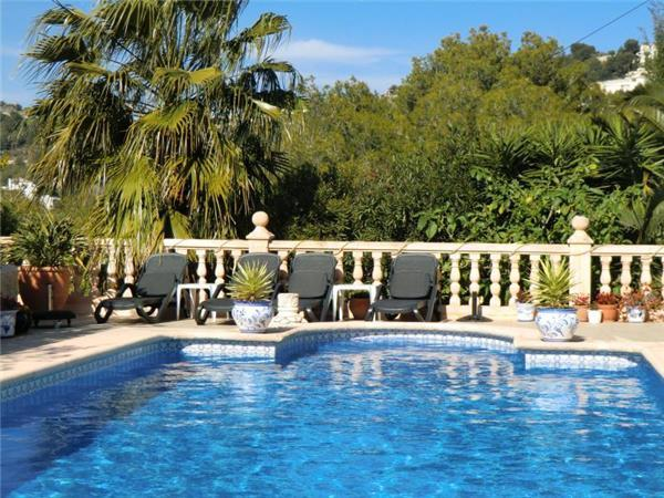 Luxury holiday house for 4 persons, with swimming pool , in Benissa - Image 1 - Benissa - rentals