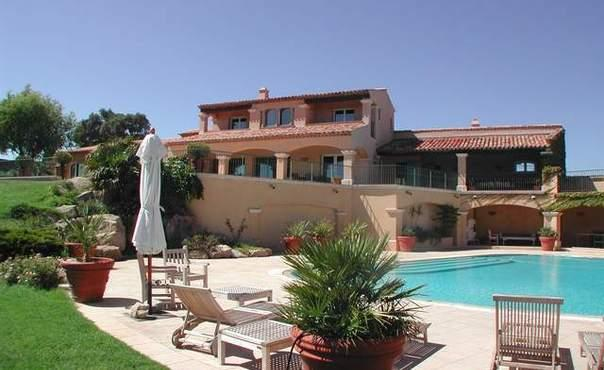 Luxurious house with panoramic sea views  in Grimaud, near Saint Tropez - FR-877-Grimaud - Image 1 - Grimaud - rentals