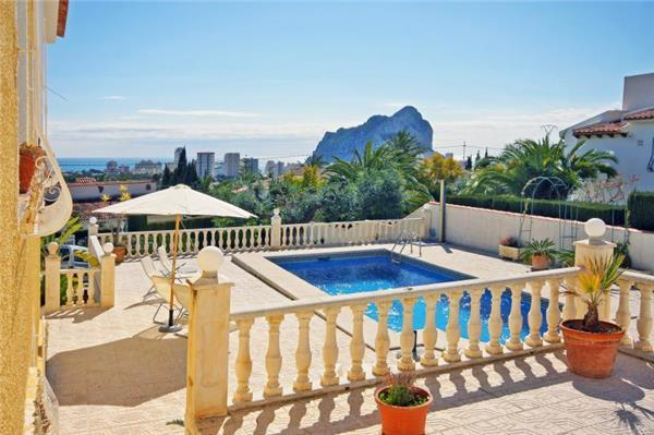 Holiday house for 6 persons, with swimming pool , in Calpe - Image 1 - Calpe - rentals