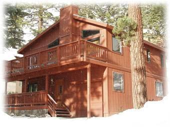Front of Preston House 2 - Mammoth Mountain Seasonal Rental - Mammoth Lakes - rentals