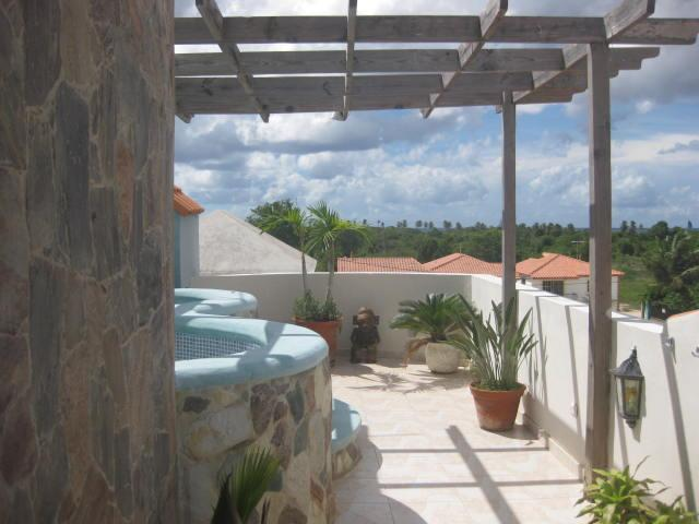 Patio on Roof - Penthouse with Oceanview - Bayahibe - rentals