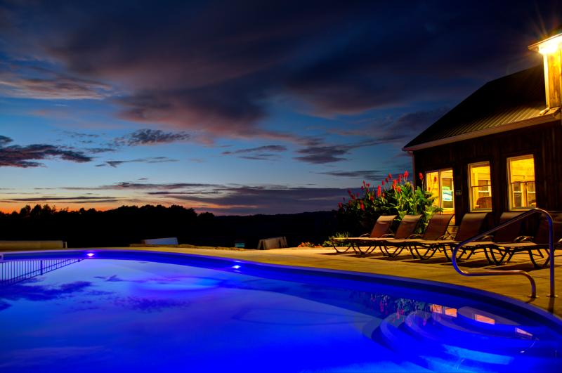 Incredible Sunsets await you - Bourbon Ridge Lodge- Hocking Hills, Ohio - Logan - rentals