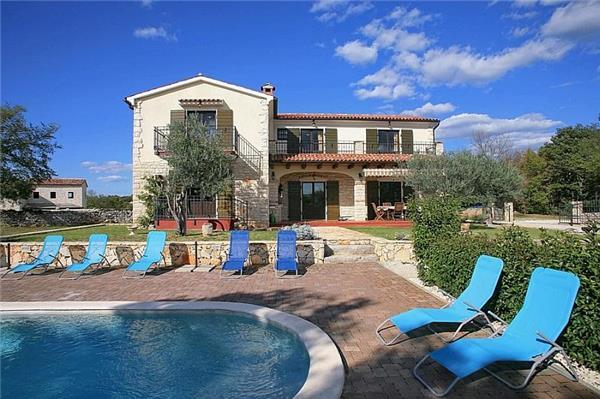 Luxury holiday house for 8 persons, with swimming pool , in Porec - Image 1 - Sveti Lovrec - rentals