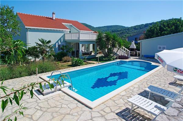 Attractive holiday house for 6 persons, with swimming pool , in Korcula - Image 1 - Vela Luka - rentals